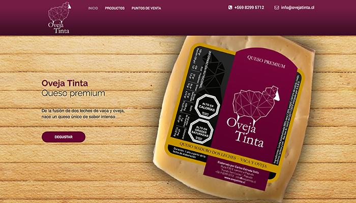 Oveja Tinta - Sitio web