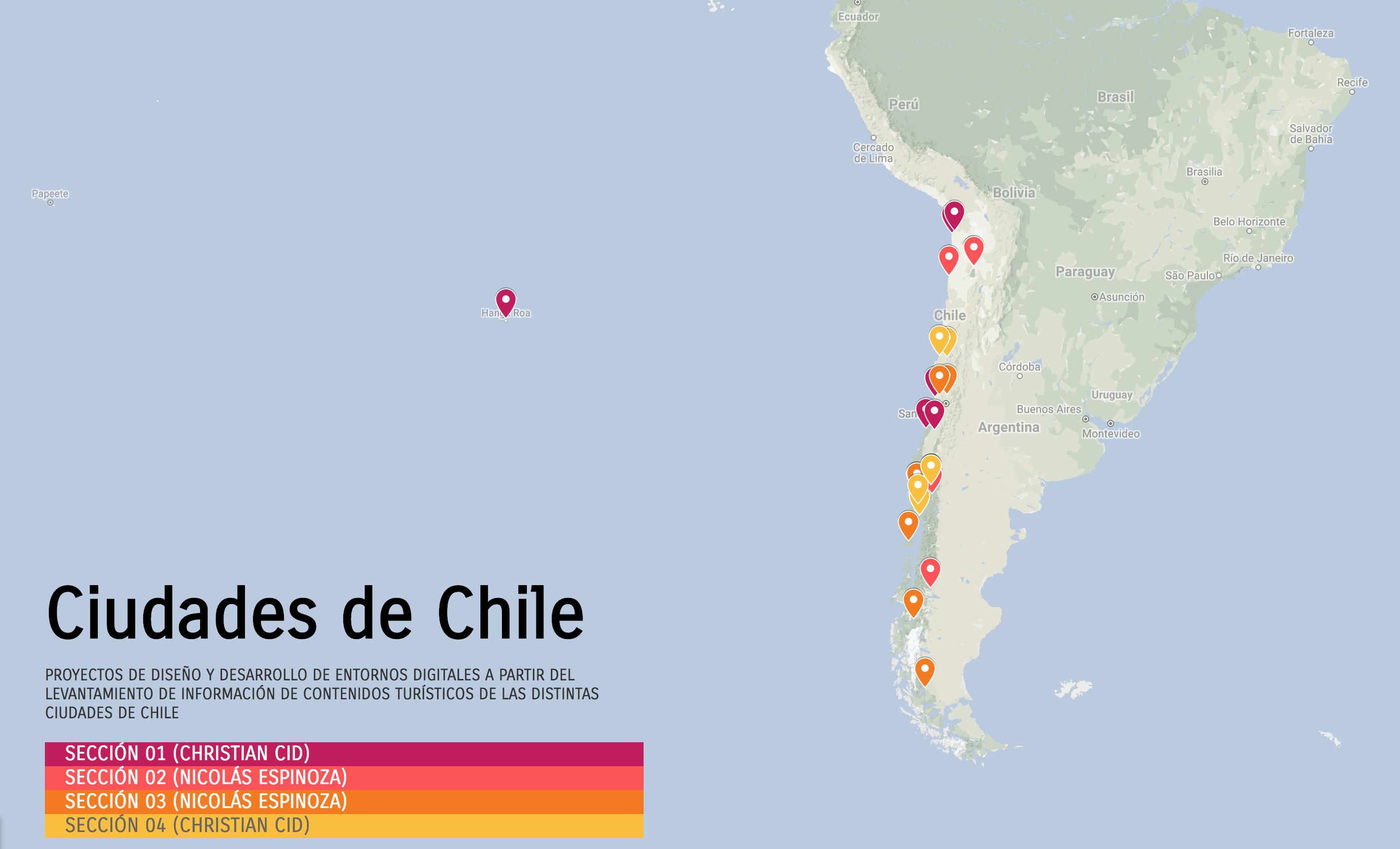 Ciudades de Chile